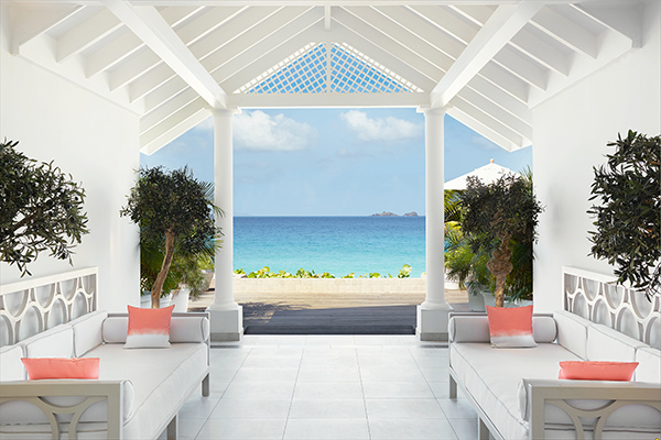 WIMCO Villas, Cheval Blanc St. Barth Isle de France, St. Barts, View from Villa, Book now with WIMCO Villas