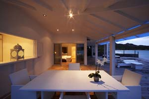 WIMCO Villas, Emeraude Plage, St. Barts, Dining Room, Book now with WIMCO Villas