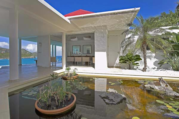 Exterior of Villa HEN RFP (Reef Point) at St. Barthelemy, St. Jean, Pool, 3 Bedrooms, 3 Bathrooms, WiFi, WIMCO Villas
