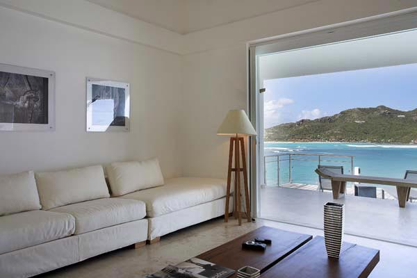 Interior of Villa HEN RFP (Reef Point) at St. Barthelemy, St. Jean, Pool, 3 Bedrooms, 3 Bathrooms, WiFi, WIMCO Villas