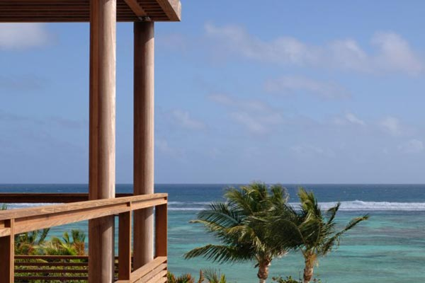 The view from Villa SRV 4BD (Four Bedroom Villa) at St. Barthelemy, Grand Cul de Sac, Family-Friendly Villa, Pool, 4 Bedrooms, 4 Bathrooms, WiFi, WIMCO Villas