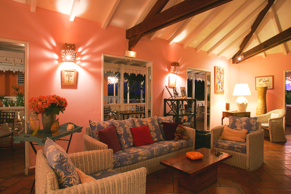 WIMCO Villas, The Tropical Hotel, St. Barts, Living Room, Book now with WIMCO Villas