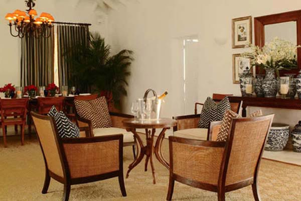 Sitting Room at Villa WV AJF at St. Barthelemy, Pointe Milou, Family-Friendly Villa, Pool, 3 Bedrooms, 3 Bathrooms, WiFi, WIMCO Villas