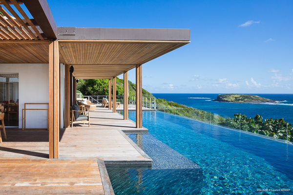 Villa Pool at Villa WV AOM (Om) at St. Barthelemy, Mont Jean, Family-Friendly Villa, Pool, 5 Bedrooms, 5 Bathrooms, WiFi, WIMCO Villas