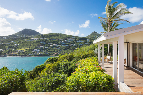 The view from Villa WV AOM (Om) at St. Barthelemy, Mont Jean, Family-Friendly Villa, Pool, 5 Bedrooms, 5 Bathrooms, WiFi, WIMCO Villas