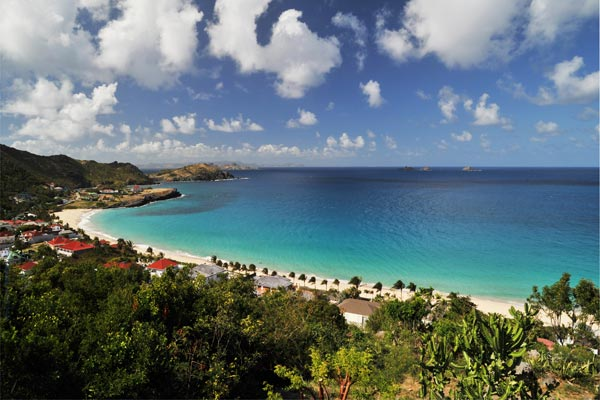 The view from Villa WV AOO (Roc Flamands #8) at St. Barthelemy, Flamands, Family-Friendly Villa, Pool, 4 Bedrooms, 4 Bathrooms, WiFi, WIMCO Villas
