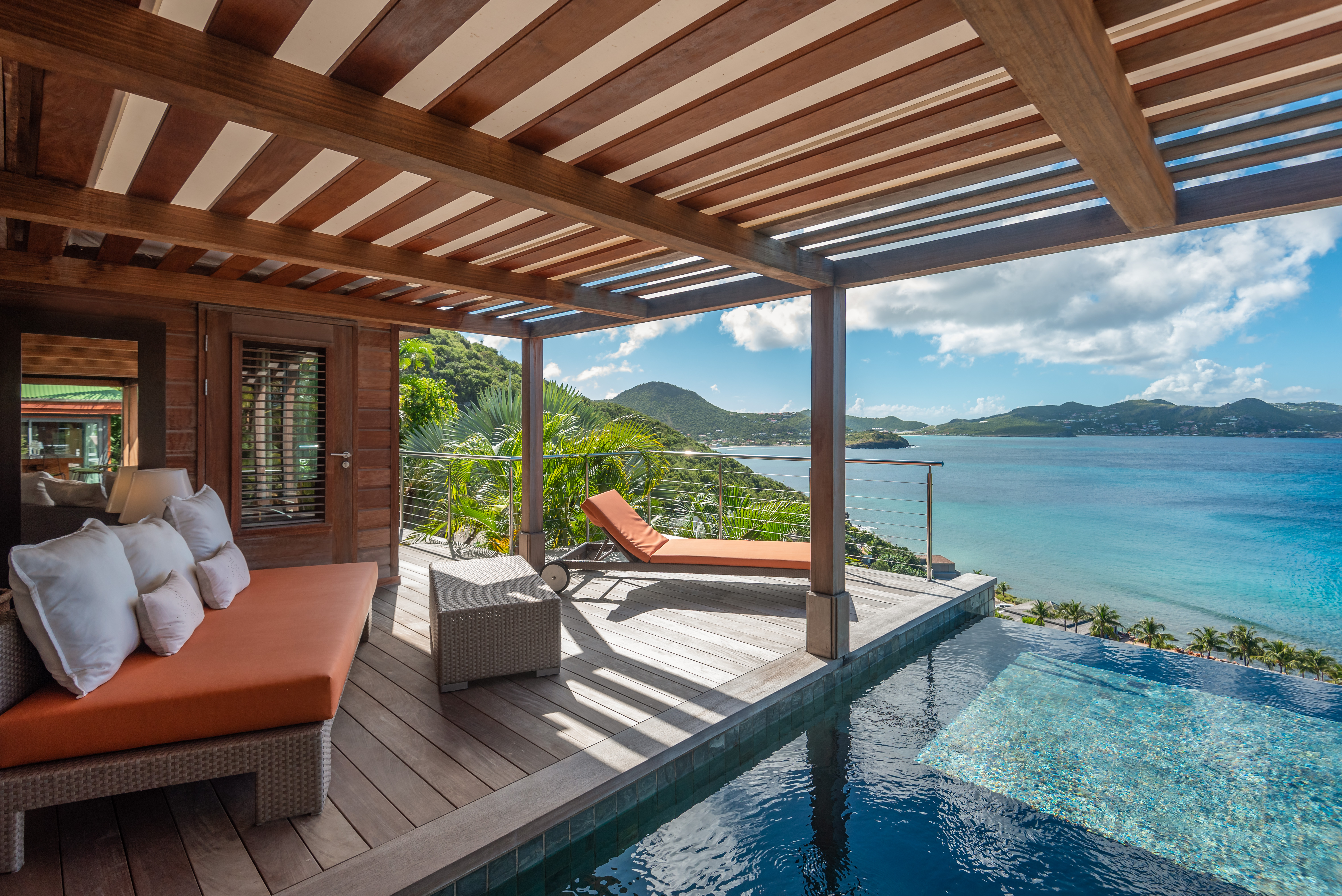 WIMCO Villa WV BAY, St. Barths, Pointe Milou, 2 bedrooms, 2 bathrooms, pool, wifi