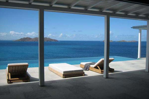 The view from Villa WV BBS (Ella) at St. Barthelemy, St. Jean, Pool, 3 Bedrooms, 3 Bathrooms, WiFi, WIMCO Villas