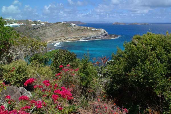 The view from Villa WV BEV (Beverly) at St. Barthelemy, Mont Jean, Family-Friendly Villa, Pool, 4 Bedrooms, 4 Bathrooms, WiFi, WIMCO Villas