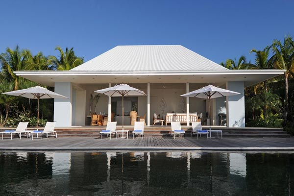 Exterior of Villa WV BOW (Hill House) at St. Barthelemy, Camaruche, Family-Friendly Villa, Pool, 4 Bedrooms, 5 Bathrooms, WiFi, WIMCO Villas