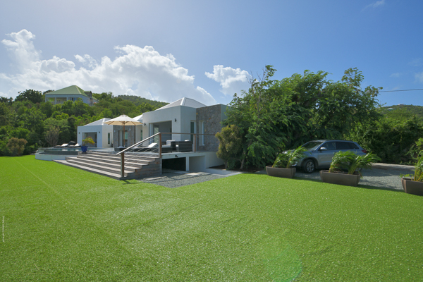 Exterior of Villa WV IVY (Ivy) at St. Jean, St. Barthelemy, Family-Friendly, Pool, 2 Bedroom, 2 Bathroom, WiFi, WIMCO Villas