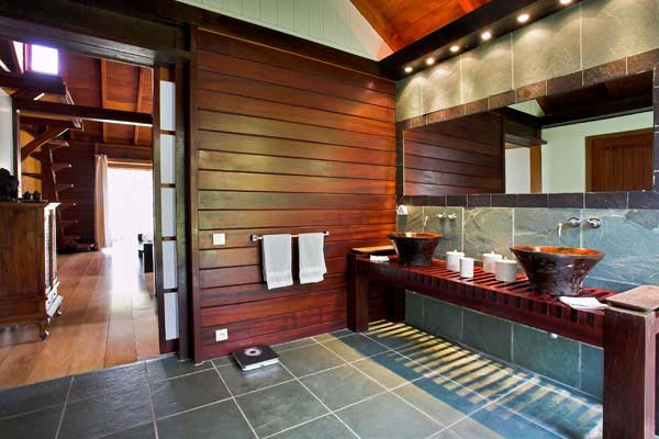 Bathroom at Villa WV MAK at St. Barthelemy, St. Jean, Pool, 2 Bedrooms, 2 Bathrooms, WiFi, WIMCO Villas