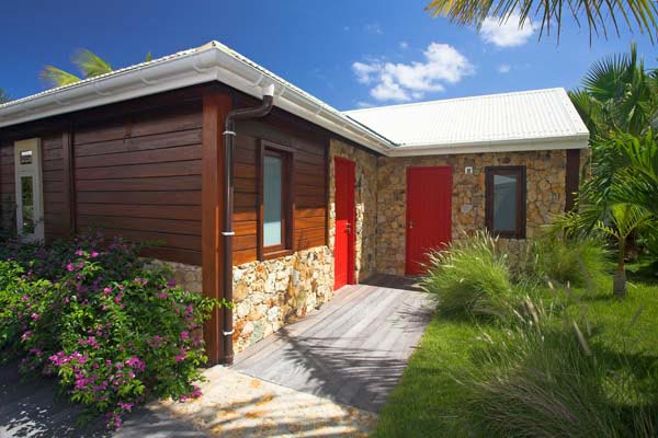 Exterior of Villa WV MAK at St. Barthelemy, St. Jean, Pool, 2 Bedrooms, 2 Bathrooms, WiFi, WIMCO Villas