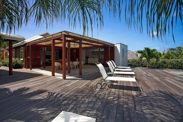 Terrace at Villa WV MAK at St. Barthelemy, St. Jean, Pool, 2 Bedrooms, 2 Bathrooms, WiFi, WIMCO Villas