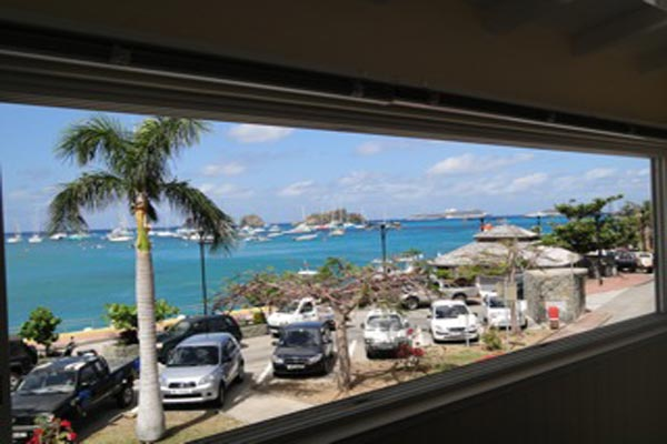The view from Villa WV OSS at St. Barthelemy, Gustavia, Family-Friendly Villa, 2 Bedrooms, 2 Bathrooms, WiFi, WIMCO Villas