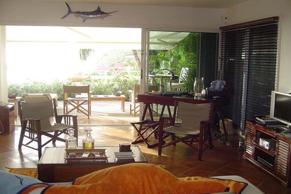 Sitting Room at Villa WV PUL (Colony Club Gustavia) at St. Barthelemy, Gustavia, Family-Friendly Villa, Pool, 1 Bedrooms, 1 Bathrooms, WiFi, WIMCO Villas