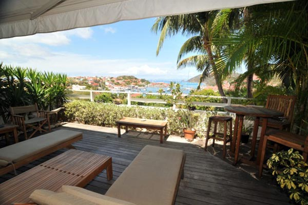 Terrace at Villa WV PUL (Colony Club Gustavia) at St. Barthelemy, Gustavia, Family-Friendly Villa, Pool, 1 Bedrooms, 1 Bathrooms, WiFi, WIMCO Villas
