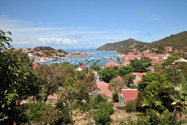 The view from Villa WV PUL (Colony Club Gustavia) at St. Barthelemy, Gustavia, Family-Friendly Villa, Pool, 1 Bedrooms, 1 Bathrooms, WiFi, WIMCO Villas
