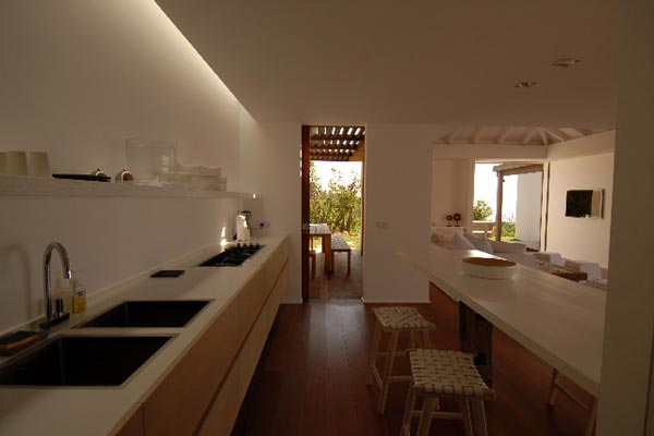 Kitchen at Villa WV RKU (Rock U) at St. Barthelemy, Lurin, Family-Friendly Villa, Pool, 3 Bedrooms, 4 Bathrooms, WiFi, WIMCO Villas
