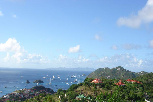 The view from Villa WV RKU (Rock U) at St. Barthelemy, Lurin, Family-Friendly Villa, Pool, 3 Bedrooms, 4 Bathrooms, WiFi, WIMCO Villas