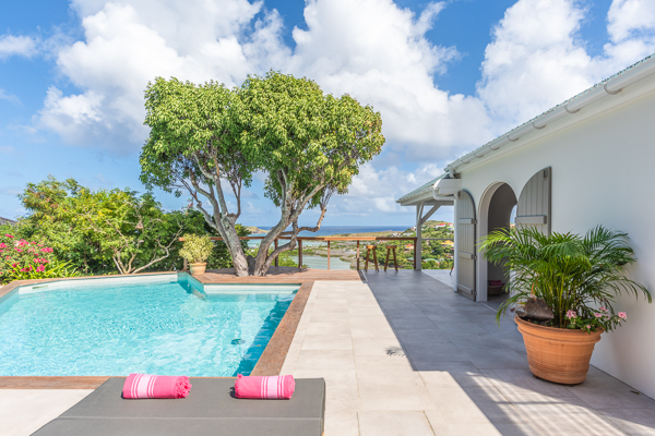 Villa Pool at Villa WV VEN at St. Barthelemy, Grand Cul de Sac, Pool, 1 Bedrooms, 1 Bathrooms, WiFi, WIMCO Villas