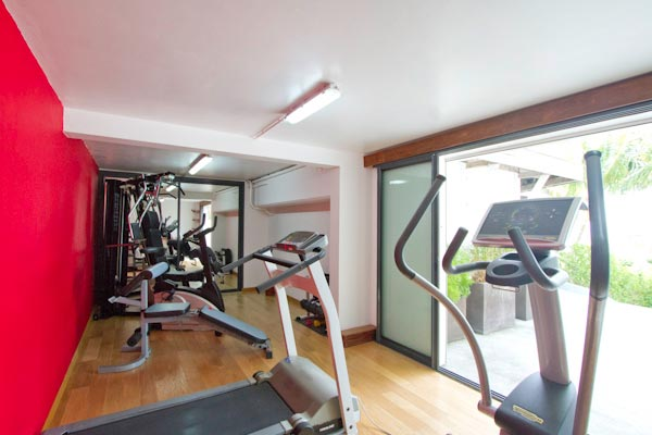 Gym at Villa WV ABT (Jali) at St. Barthelemy, Anse des Cayes, Family-Friendly Villa, Pool, 3 Bedrooms, 3 Bathrooms, WiFi, WIMCO Villas