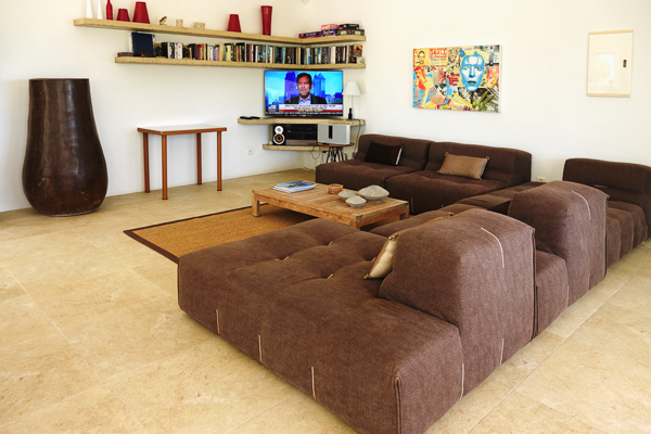 Living Room at Villa WV ABT (Jali) at St. Barthelemy, Anse des Cayes, Family-Friendly Villa, Pool, 3 Bedrooms, 3 Bathrooms, WiFi, WIMCO Villas