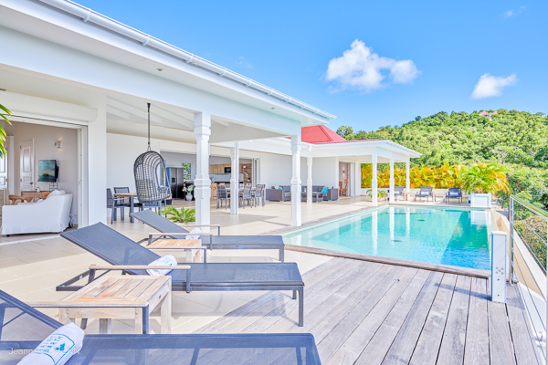 Villa Pool at Villa WV ANK at St. Barthelemy, Colombier, Family-Friendly Villa, Pool, 3 Bedrooms, 3 Bathrooms, WiFi, WIMCO Villas