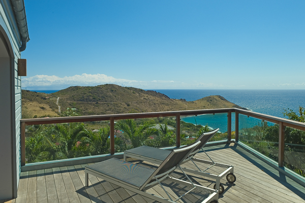 The view from Villa WV AUR (Au Rêve) at St. Barthelemy, Vitet, Family-Friendly Villa, Pool, 4 Bedrooms, 4 Bathrooms, WiFi, WIMCO Villas