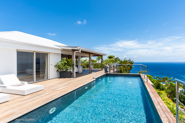 Villa Pool at Villa WV AVN (Avalon) at St. Barthelemy, Gouverneur, Family-Friendly Villa, Pool, 4 Bedrooms, 4 Bathrooms, WiFi, WIMCO Villas