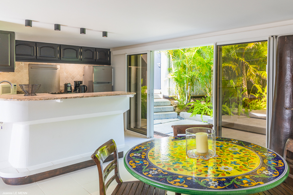 Dining Room at Villa WV BON (Bonbonniere) at St. Barthelemy, Pointe Milou, Pool, 1 Bedrooms, 2 Bathrooms, WiFi, WIMCO Villas