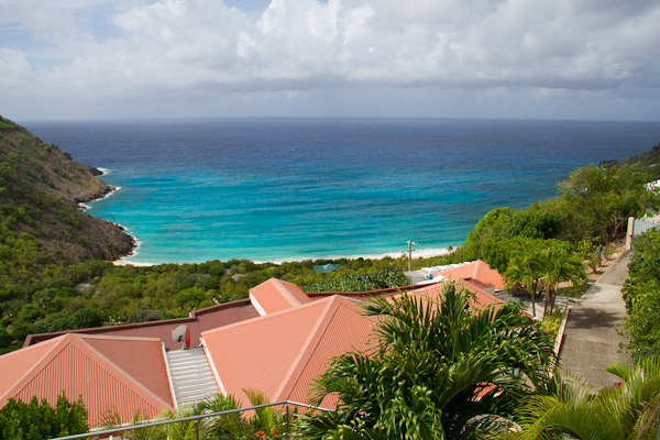 The view from Villa WV BRE at St. Barthelemy, Gouverneur, Family-Friendly Villa, Pool, 4 Bedrooms, 4 Bathrooms, WiFi, WIMCO Villas