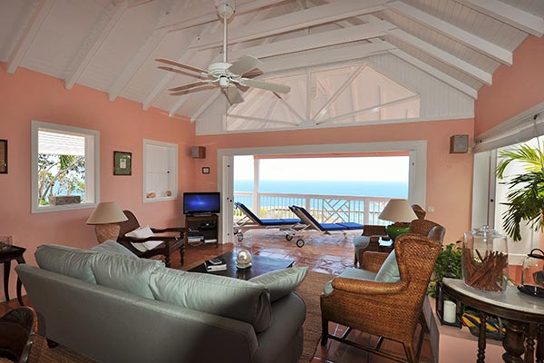 Living Room at Villa WV CHO at St. Barthelemy, Vitet, Family-Friendly Villa, Pool, 3 Bedrooms, 3 Bathrooms, WiFi, WIMCO Villas
