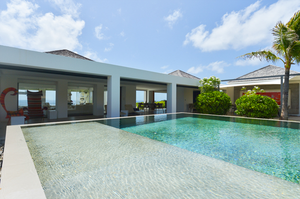 WIMCO Villa Casa Del Mar, St Barths, Petit Cul de Sac, Family Friendly, 6 bedrooms, 6 bathrooms, pool, wifi