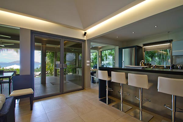 Kitchen at Villa WV CML (Cumulus) at St. Barthelemy, Camaruche, Family-Friendly Villa, Pool, 6 Bedrooms, 6 Bathrooms, WiFi, WIMCO Villas