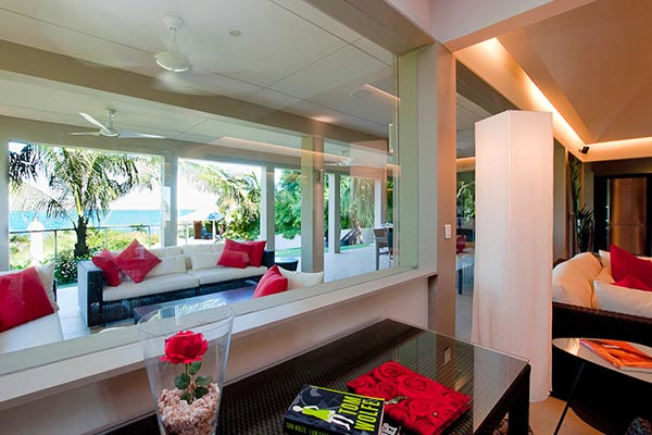 Terrace at Villa WV CML (Cumulus) at St. Barthelemy, Camaruche, Family-Friendly Villa, Pool, 6 Bedrooms, 6 Bathrooms, WiFi, WIMCO Villas