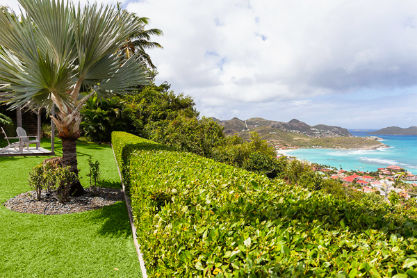 The view from Villa WV DSA (Villa C'est ma Vue) at St. Barthelemy, St. Jean, Pool, 3 Bedrooms, 3 Bathrooms, WiFi, WIMCO Villas