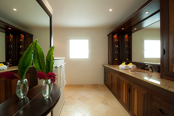 Bathroom at Villa WV FCE (Florence) at St. Barthelemy, Marigot, Family-Friendly Villa, Pool, 3 Bedrooms, 3 Bathrooms, WiFi, WIMCO Villas