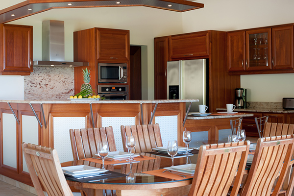 Kitchen at Villa WV FCE (Florence) at St. Barthelemy, Marigot, Family-Friendly Villa, Pool, 3 Bedrooms, 3 Bathrooms, WiFi, WIMCO Villas