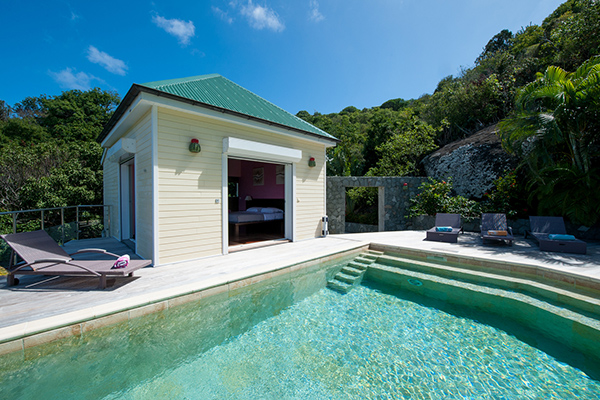 Villa Pool at Villa WV FCE (Florence) at St. Barthelemy, Marigot, Family-Friendly Villa, Pool, 3 Bedrooms, 3 Bathrooms, WiFi, WIMCO Villas