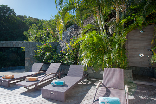 Terrace at Villa WV FCE (Florence) at St. Barthelemy, Marigot, Family-Friendly Villa, Pool, 3 Bedrooms, 3 Bathrooms, WiFi, WIMCO Villas