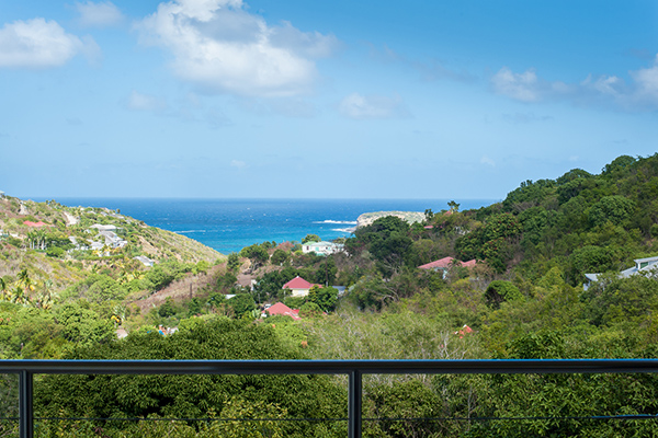 The view from Villa WV FCE (Florence) at St. Barthelemy, Marigot, Family-Friendly Villa, Pool, 3 Bedrooms, 3 Bathrooms, WiFi, WIMCO Villas
