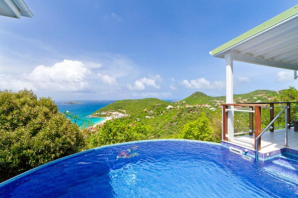 Villa Pool at Villa WV FLO (Leana) at St. Barthelemy, Colombier, Family-Friendly Villa, Pool, 1 Bedrooms, 1 Bathrooms, WiFi, WIMCO Villas