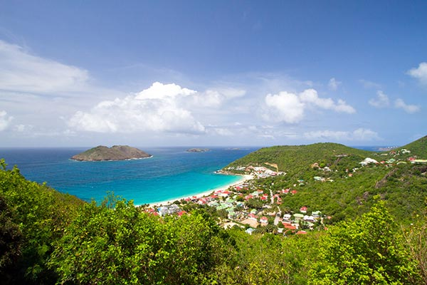 The view from Villa WV FLO (Leana) at St. Barthelemy, Colombier, Family-Friendly Villa, Pool, 1 Bedrooms, 1 Bathrooms, WiFi, WIMCO Villas