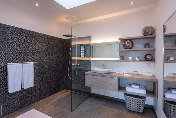 Bathroom at WIMCO Villa WV GDV (GOLDEN VIEW) at Vitet, St. Barthelemy