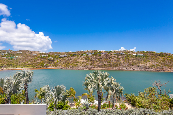 The view from Villa WV GRO (Eden House) at St. Barthelemy, Marigot, Family-Friendly Villa, Pool, 3 Bedrooms, 3 Bathrooms, WiFi, WIMCO Villas