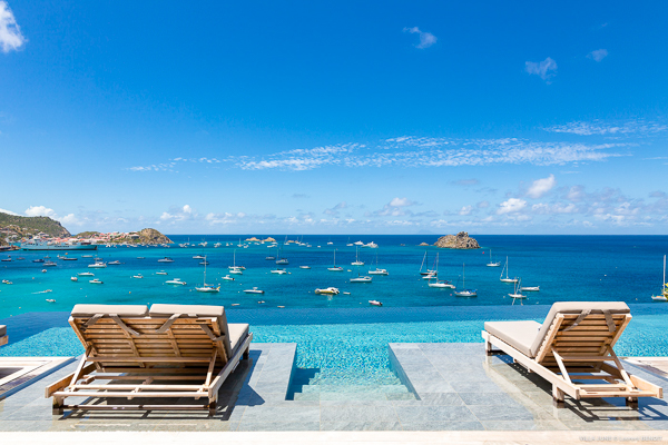 The view from WIMCO Villa WV JUN (June) at Corossol, St. Barthelemy