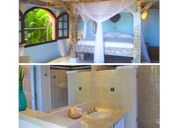 Villa WV KDY (Kyody) at St. Barthelemy, Marigot, Family-Friendly Villa, Pool, 2 Bedrooms, 2 Bathrooms, WiFi, WIMCO Villas