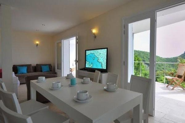 Dining Room at Villa WV MBR at St. Barthelemy, Gouverneur, Family-Friendly Villa, Pool, 3 Bedrooms, 3 Bathrooms, WiFi, WIMCO Villas