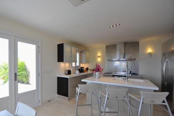 Kitchen at Villa WV MBR at St. Barthelemy, Gouverneur, Family-Friendly Villa, Pool, 3 Bedrooms, 3 Bathrooms, WiFi, WIMCO Villas